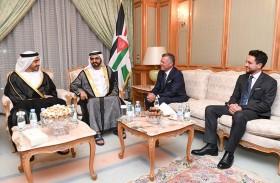 محمد بن راشد يؤكد وقوف الإمارات إلى جانب الأشقاء في الأردن