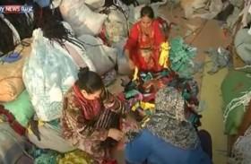 مصريات يبدعن بحرف يدوية من المخلفات