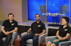 رائدا فضاء الإمارات يتدربان في مركز لندون بي جونسون للفضاء التابع لوكالة ناسا