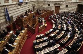 البرلمان اليوناني يقر اجراءات تقشف جديدة طالب بها الاتحاد الأوروبي وصندوق النقد
