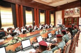 """"""" الداخلية """" تناقش التحضيرات والاستعدادات لتنظيم """" قمة أقدر العالمية """" في أبوظبي"""