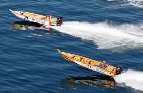 20 قاربا تتنافس في الخشبية السريعة اليوم