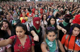 موجة من الاحتجاجات النسوية تجتاح أميركا اللاتينية