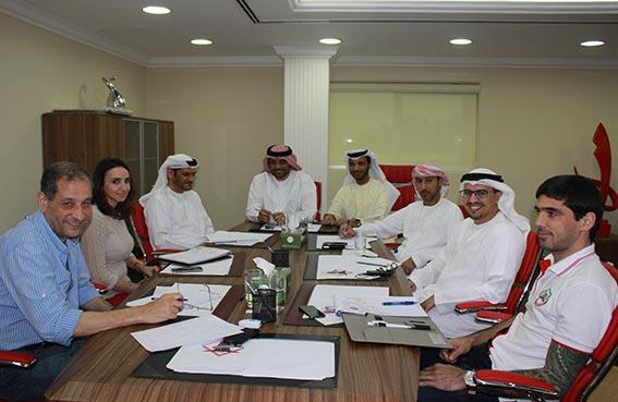 تعاون بين نادي الشارقة الرياضي واتحاد الامارات للجوجيتسو لتنظيم بطولة الشارقة الأولى للجوجيستو