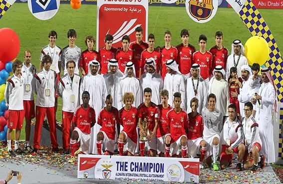 اختتام بطولة الظفرة الدولية الاولى للناشئين تحت 14 سنه لكرة القدم