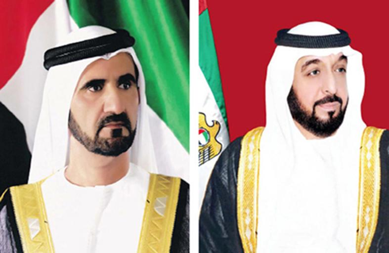 رئيس الدولة ونائبه يتلقيان برقيات تهنئة بمناسبة حلول شهر رمضان المبارك