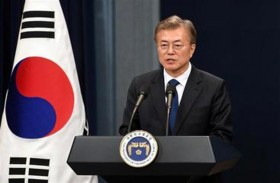 ارتفاع شعبية الرئيس الكوري الجنوبي لأعلى مستوى