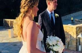 إيمي شومر تتزوّج كريس فيشر