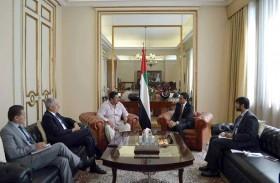 الإمارات تبحث التعاون  الاقتصادي والاستثماري مع دولة بليز