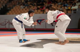وديمة اليافعي ومحمد العمري مواهب إماراتية تضع أقدامها على سلم المجد في رياضة الجوجيتسو