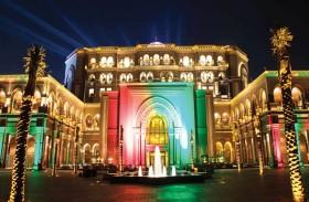أبوظبي تتزين في عيد الاتحاد الثامن والأربعين والكورنيش مركز الاحتفالات