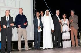 مهرجان ميجرارت السينمائي بإيطاليا يكرم جمعية الفجيرة الثقافية