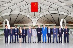 مطارات أبوظبي توقع مذكرة تفاهم تاريخية مع مطار بكين داشينغ الدولي