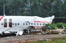 رجال الإنقاذ والمتطوعون في صدمة بعد كارثة الطائرة الهندية