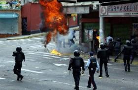24 قتيلا خلال شهر في فنزويلا وتظاهرة جديدة للمعارضة اليوم