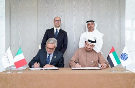 عبدالله بن زايد ونظيره الإيطالي يترأسان الحوار الاستراتيجي الثالث بين الإمارات وإيطاليا