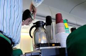 لا تتناول القهوة في رحلات الطيران