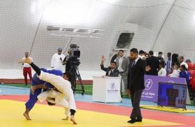10 فرق تتنافس في ختام دوري أبطال الإمارات لناشئي وشباب الجودو