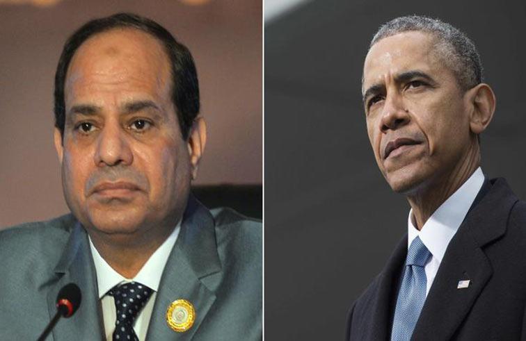 السيسي يرحب بإفراج واشنطن عن الأسلحة لمصر