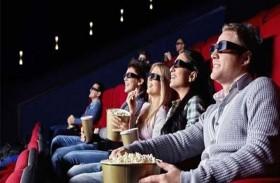 الذهاب إلى السينما يعادل التمارين الرياضية