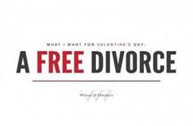 طلاق مجاني للفائزين بمسابقة الفالنتاين