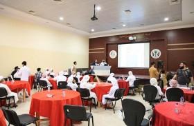 نادي مليحة الفائز  بالمركز الأول ومركز ناشئة كلباء وصيفا ونادي الثقة للمعاقين ثالثا