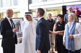 زكي نسيبة يفتح معرض العلاقات الإماراتية النرويجية