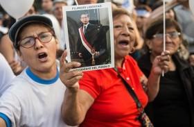 مئات المؤيدين للعفو عن فوجيموري يتظاهرون في ليما