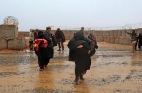 إجلاء اللاجئين العالقين من مخيم الركبان السوري