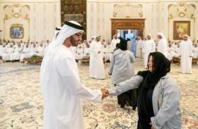 محمد بن زايد: الإمارات تولي أهمية خاصة لتمكين فئة أصحاب الهمم بما يضمن مشاركتهم بفاعلية في مسيرة تطور الوطن