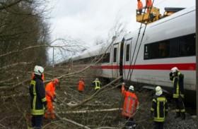 استئناف بطيء لحركة القطارات في ألمانيا وهولندا