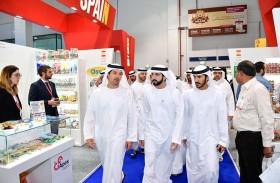 حمدان بن محمد يزور معرض غلفود 2018 للأغذية والضيافة