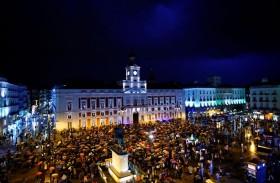 آلاف يتجمعون في مدريد احتجاجا على العنف ضد المرأة