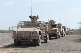 بإسناد كبير من القوات الإماراتية .. قوات التحالف تواصل تقدمها في الساحل الغربي اليمني