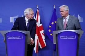 انطلاق محادثات خروج بريطانيا من الإتحاد