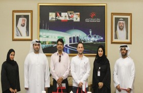 هيئة مطار الشارقة الدولي تكرم الفائزين ببرنامج