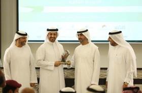 موارد الشارقة تحصد جائزة «الجهة الحكومية المتميزة في التطوير المالي المستمر»