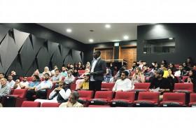«أمريكية الشارقة » تنظم جلسة تعريفية لطلبة الدراسات العليا