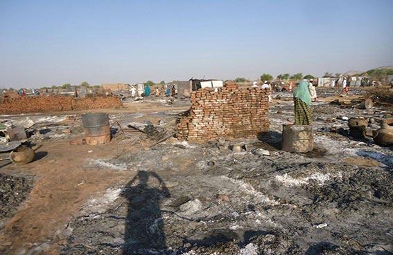 إصابات في هجوم على مخيم نازحين بدافور