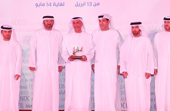 المنصوري يشيد بمشاركة شركات أبوظبي الوطنية ببطولة أدنوك