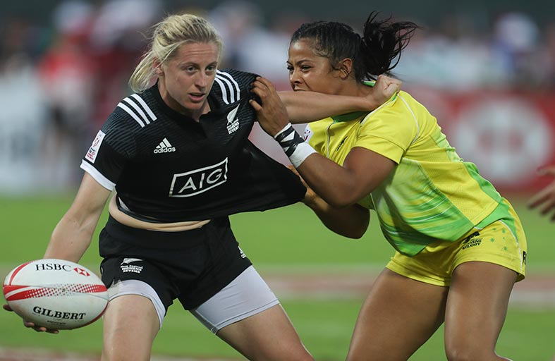 سيدات نيوزيلاندا يتوجن بلقب بطولة طيران الإمارات لسباعيات دبي للرجبي