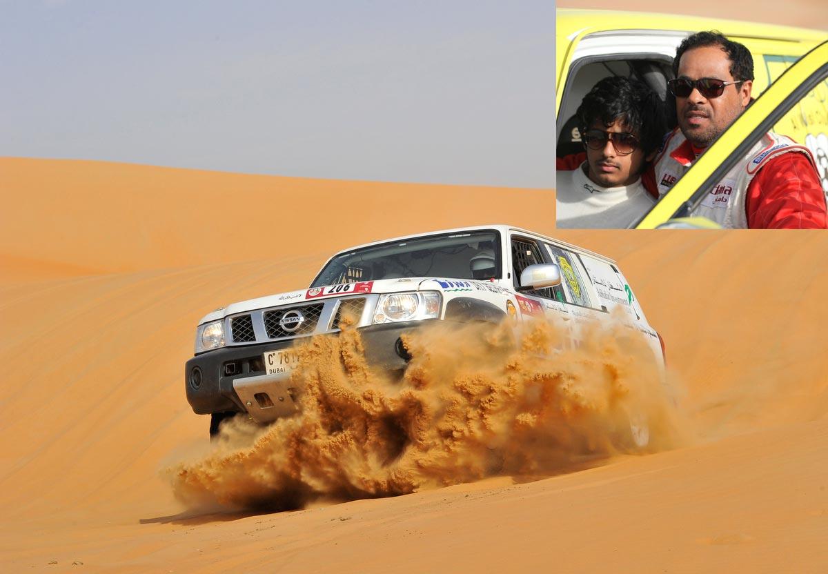 بلهلي يشارك للعام 23 على التوالي في رالي أبوظبي الصحراوي ويعزز رقمه القياسي كأكثر السائقين مشاركة في تاريخ الرالي