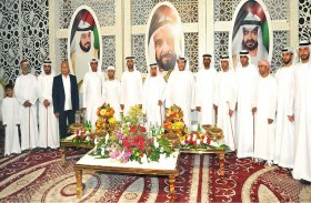 سعيد بن طحنون يحضر زفاف هزاع ناصر الغيثي