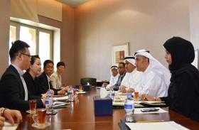 غرفة الشارقة تبحث تعزيز التعاون الثنائي مع وفد اقتصادي من إقليم نينغشيا الصيني