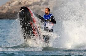 راشد الملا بطل العالم للدراجات المائية يروي لـ «وام» قصته مع تحدي الإصابة