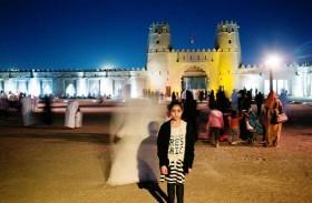 ليلة في القلعة لاستكشاف قلعة الجاهلي ليلاً
