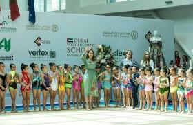الإماراتية لمياء طارق تفوز بالمركز الأول في كأس الإمارات الدولي للجمباز الإيقاعي