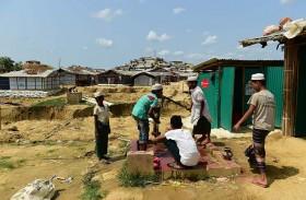 الروهينغا يواجهون رمضانا صعبا في المخيمات