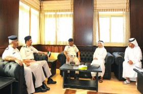 شرطتا دبي وأبوظبي يبحثان جهود المحافظة على حقوق العمال