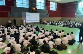 بلدية مدينة أبوظبي تطلق مبادرة المفتش الصغير لتوعية طلبة المدارس بشأن المحافظة على المظهر العام للمدينة